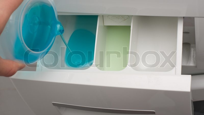 how to clean dispenser in washing machine