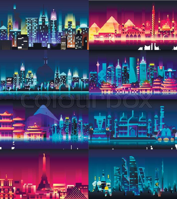 background cityscape