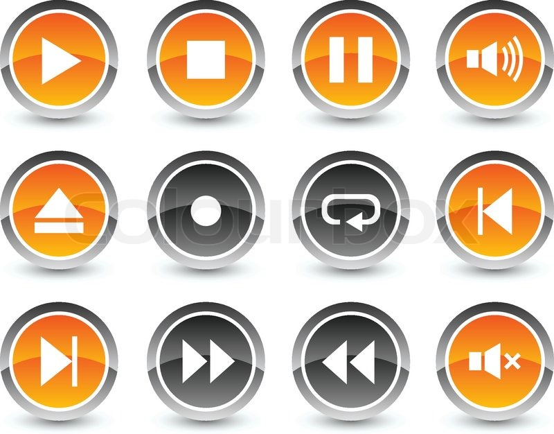 Player Icons Vector Player Icon Set Vector