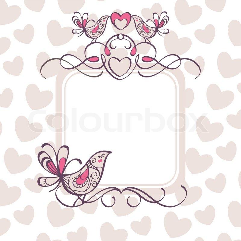 Hjerte Ramme Hjerter Grænse - Gratis billeder på Pixabay