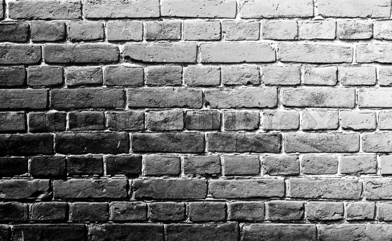 Old Brick Wal LChorna White Background Texture