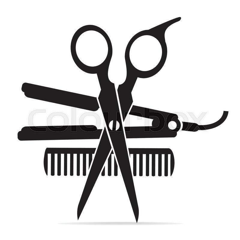 Hair Cutting Scissors Cartoon 49
