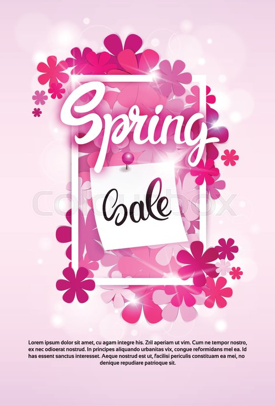 ebd39a1f952 Spring Sale Shopping Special Offer ...