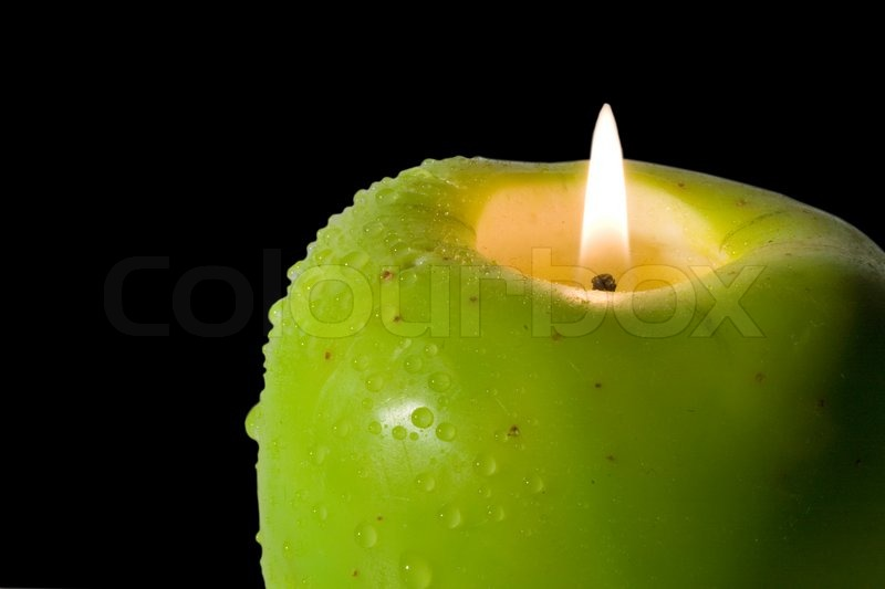 Wholesale Apple Shaped Candles