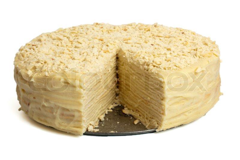 Торт наполеон рецепт фото со сгущёнкой