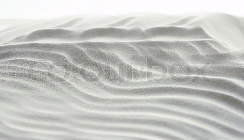 Kæmpestor Abstrakt baggrund af hvidt sand | Stock foto | Colourbox CM17