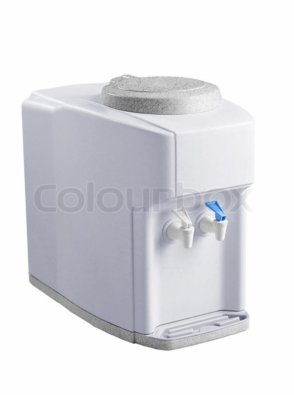Something is. hot cold water dispenser faucet