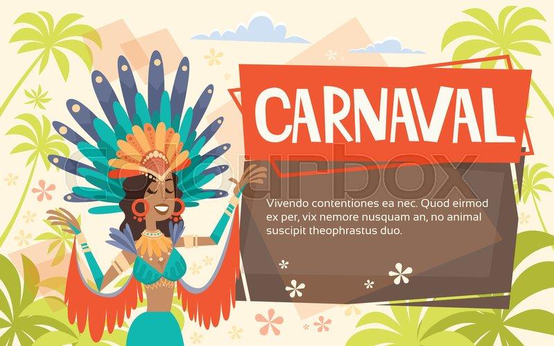 Brazil Carnival Latin Woman Wear