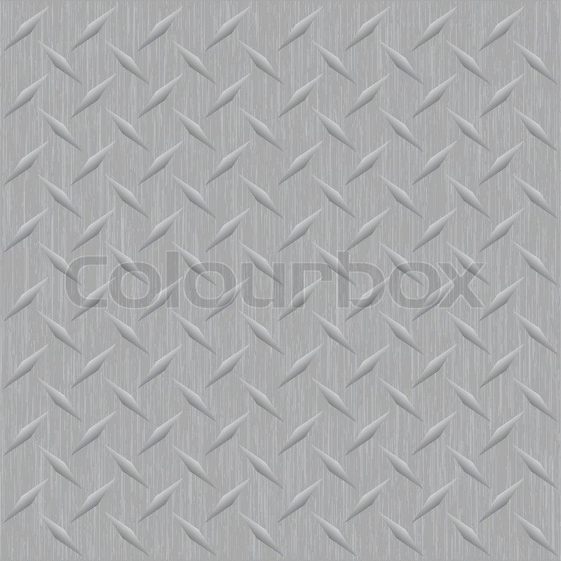 Ein silber metallic riffelblech vektor bild dass fliesen - Metallic fliesen ...