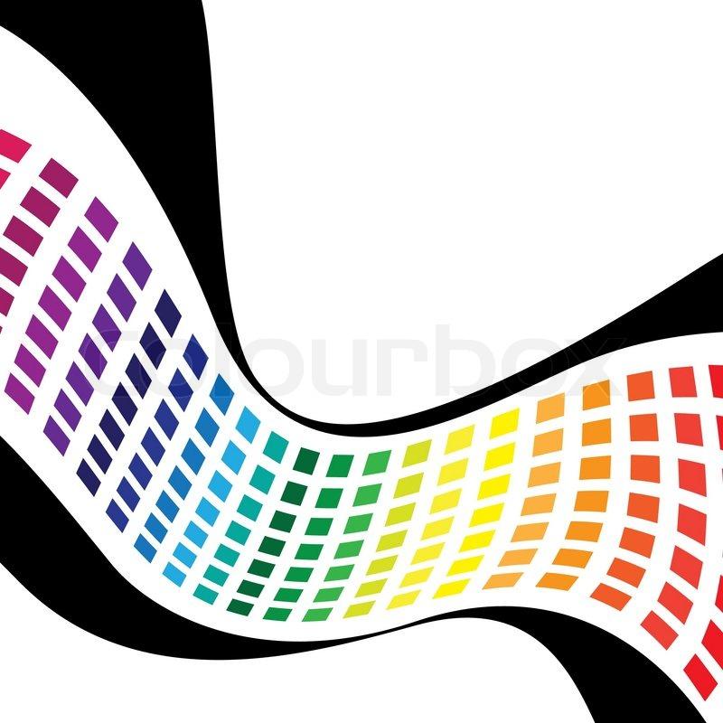 Abstract Spectrum Clip Art