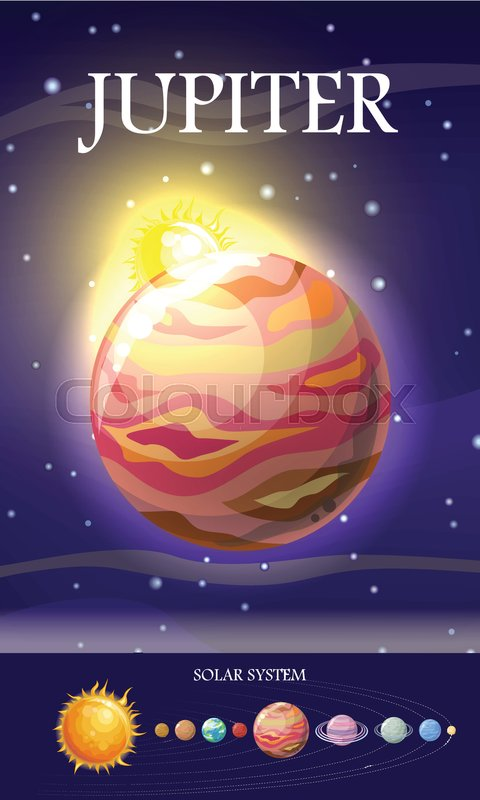 Jupiter Planet  Fifth Planet From The