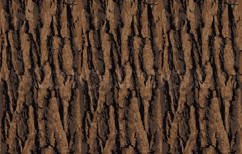 seamless tree bark texture endless wooden background for