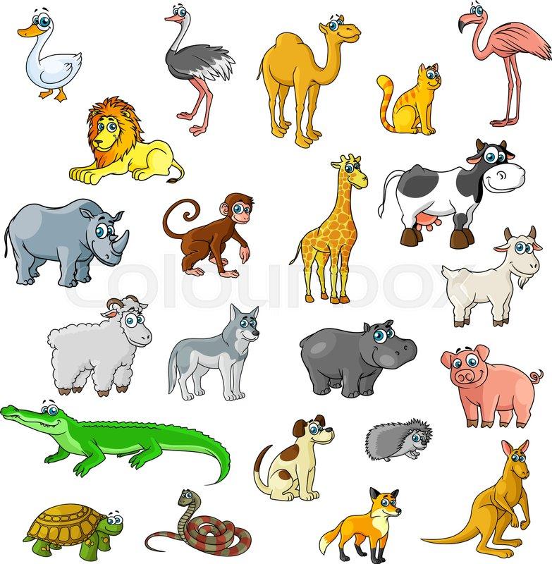 Top 9 Best Derpy Animal Stickers 2019: Cartoon Zoo Animals And Pets. Duck, ...
