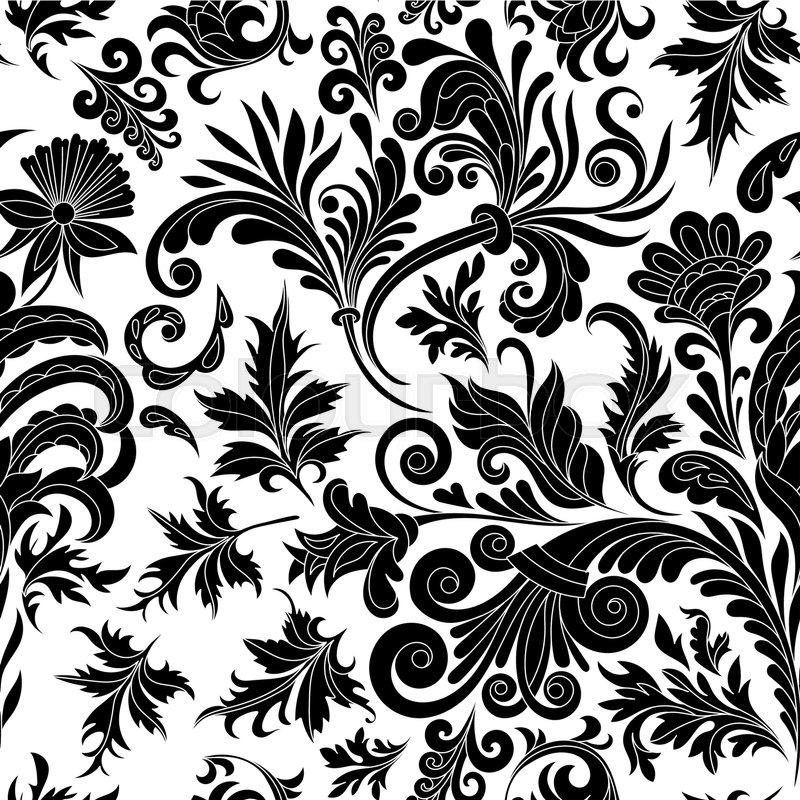 Vector Illustration Decorative Design Element Filigree