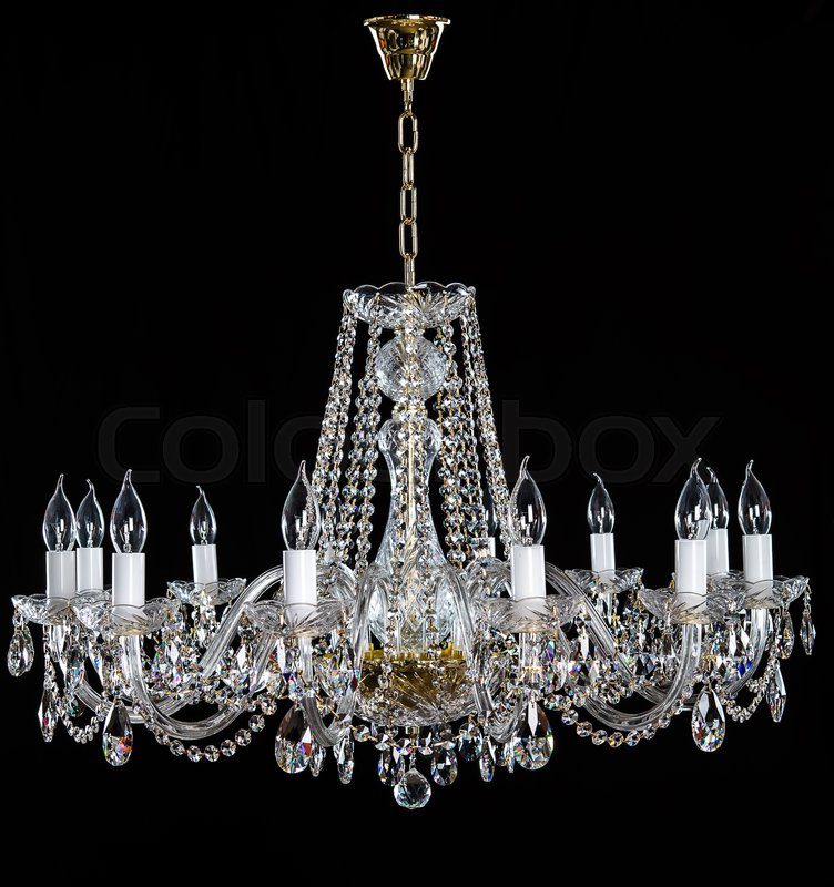 Crystal chandelier group of hanging crystals image of grunge dark crystal chandelier group of hanging crystals image of grunge dark room interior with chandelier chrystal chandelier close up luxury glass chandelier on aloadofball Image collections