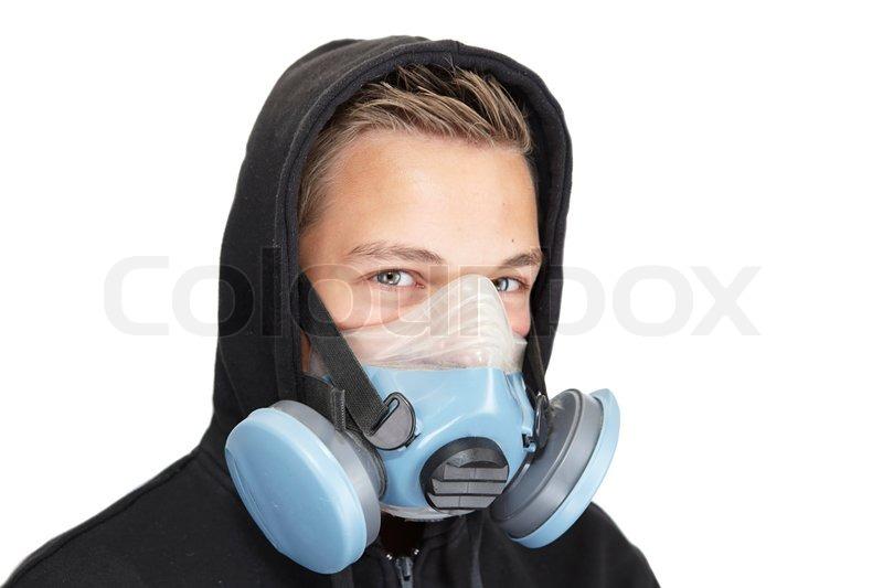 Wie die Zwiebelmaske auf die Person zu machen