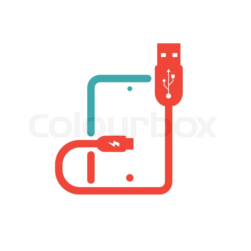 Tablet charging vector ilustration. Mobile flat icon isolated on ...