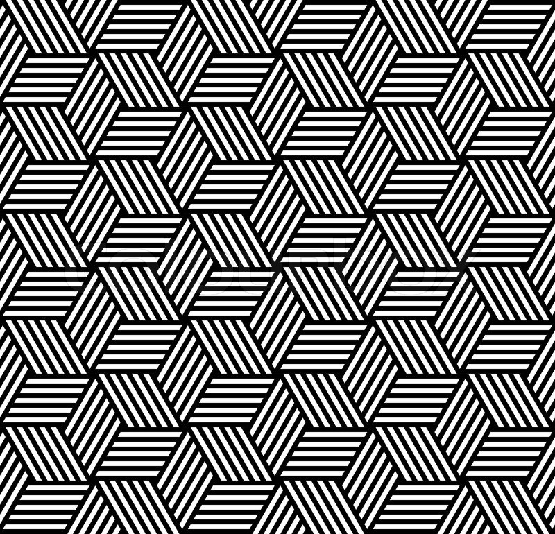 Seamless Pattern In Op Art Design Stock Vector Colourbox Impressive Pattern Art