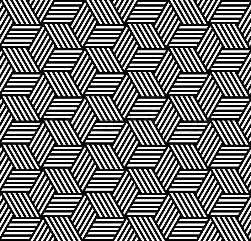 Line Design Op Art : Seamless pattern in op art design stock vector colourbox