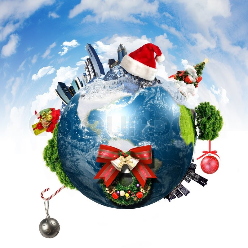 Neues jahr und weihnachtsferien farbenfrohes hintergrund stockfoto