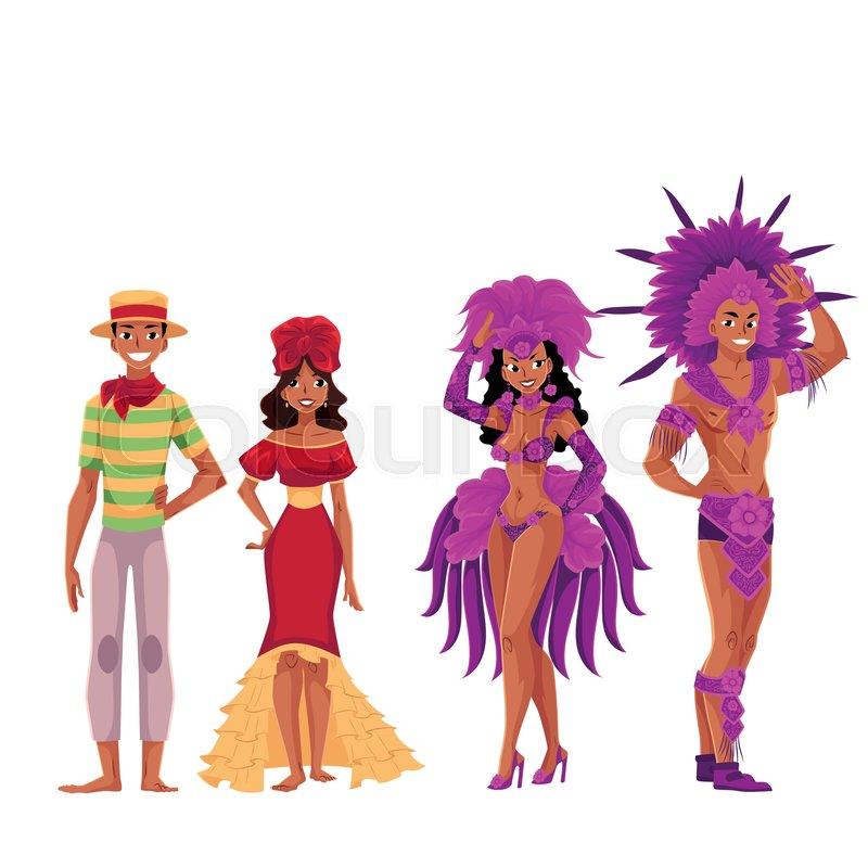 Rio Carnival Costumes Men