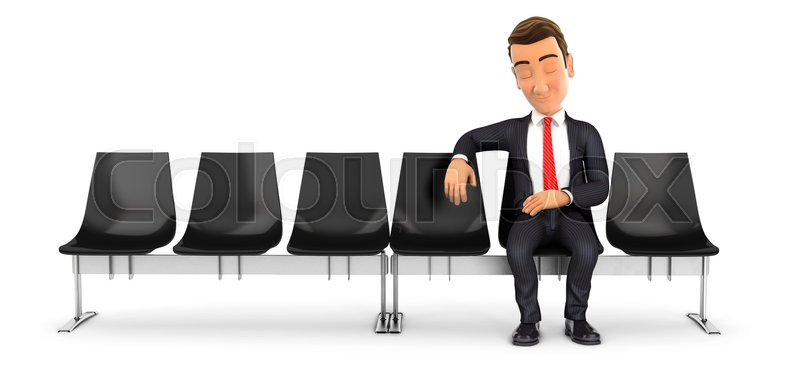Prime 3D Businessman Sleeping In Waiting Stock Image Colourbox Unemploymentrelief Wooden Chair Designs For Living Room Unemploymentrelieforg