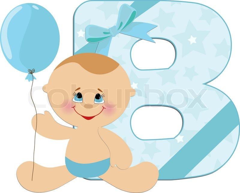 Baby S Illustrated Abc Alphabet Stock Vector Colourbox