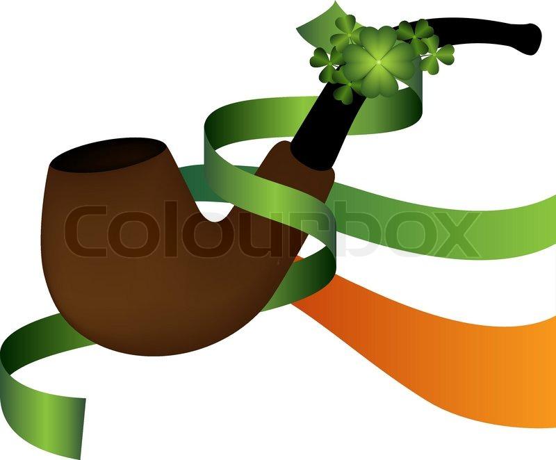 Saint patrick 39 s day symbol irish brier stock vector for Irish mail cart plans