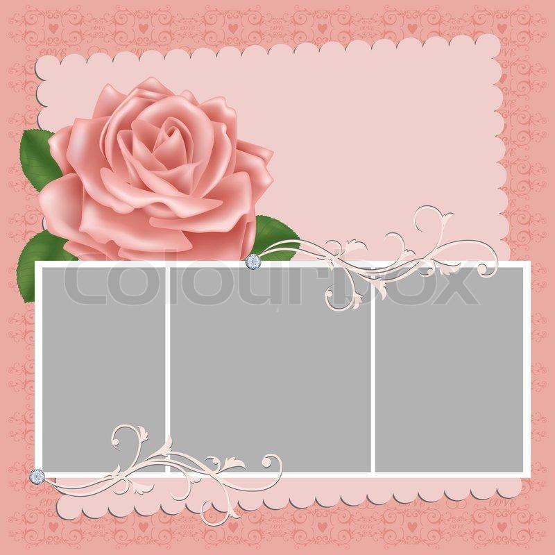 Blank wedding invitation designs floral blank invitation template blank m4hsunfo