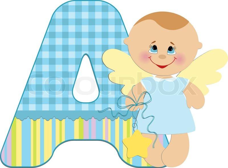 Baby's illustrated ABC alphabet | Stock Vector | Colourbox