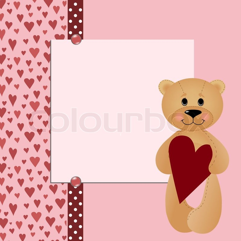 Template for valentine or wedding greetings card or postcard eps10 template for valentine or wedding greetings card or postcard eps10 stock vector colourbox m4hsunfo