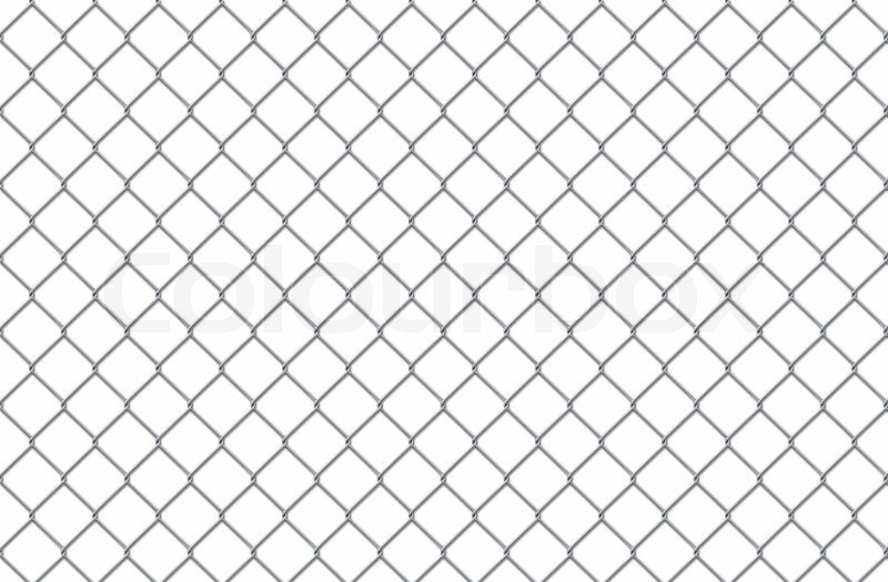 Steel Lattice On A White Background For You Stock Photo