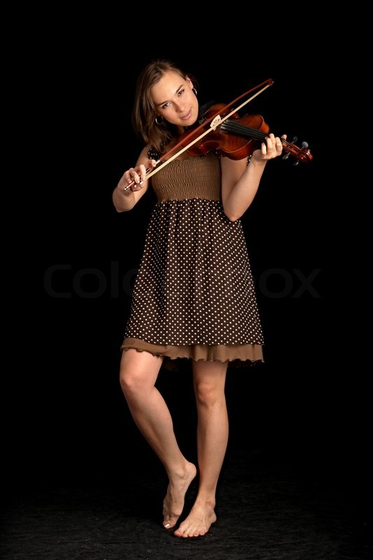 скрипач ленка эро фото - 3