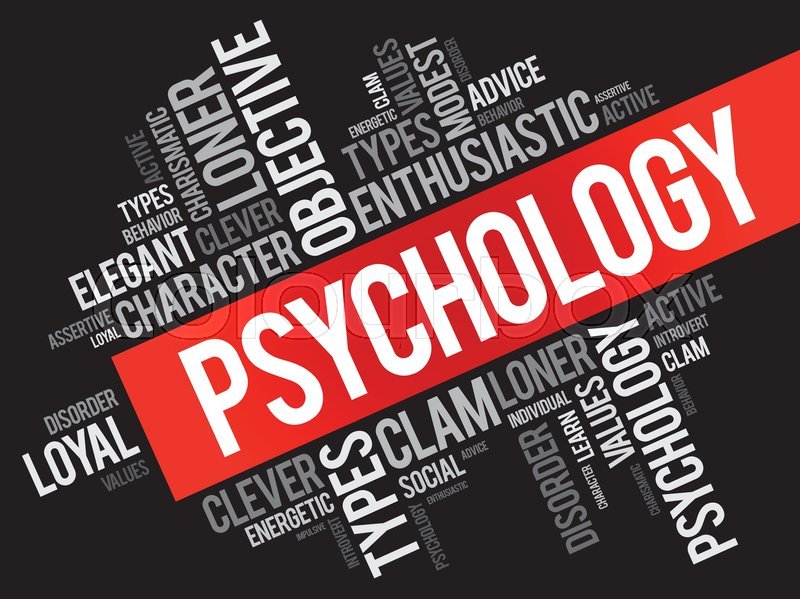 Psychology Word Cloud Collage   Social