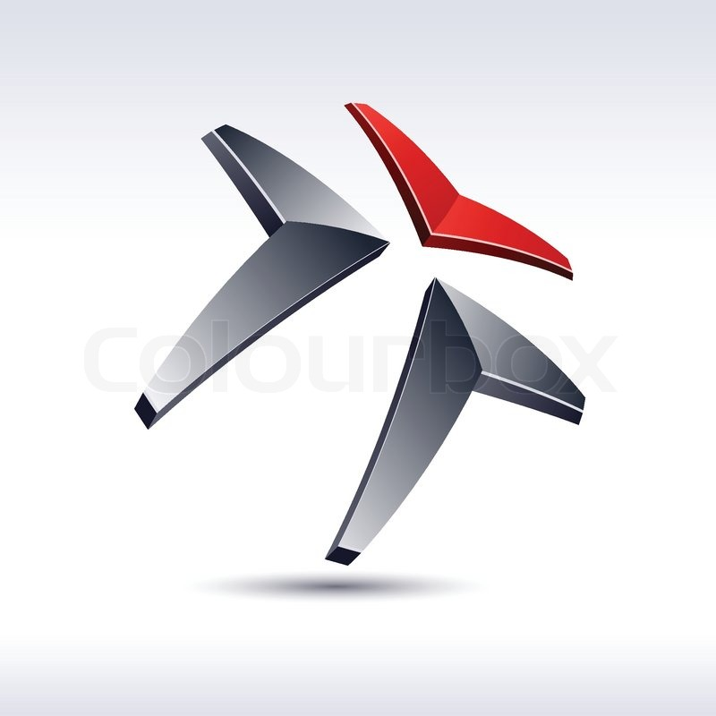 Marathon Logo Vector Abstract Modern 3d Logo Vector