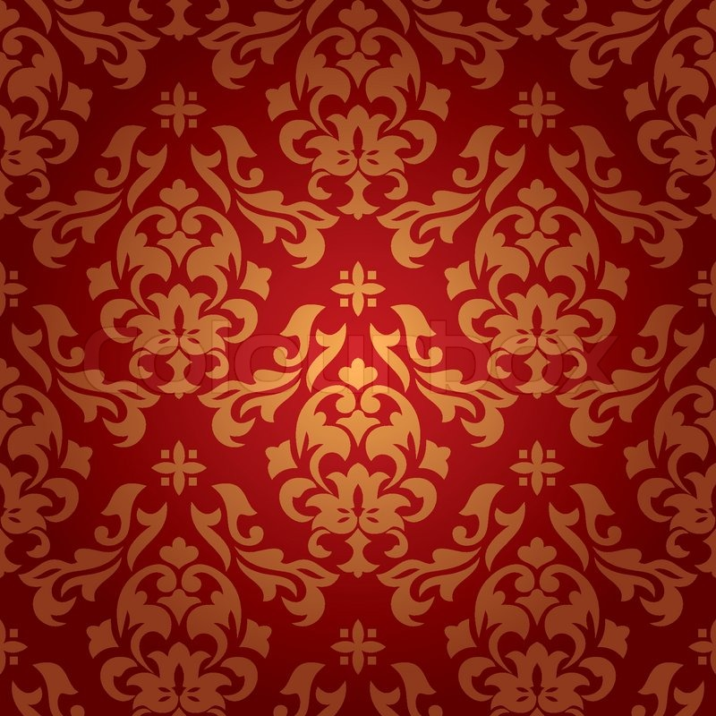 Seamless Wallpaper Vector Free Abstract Seamless Damask