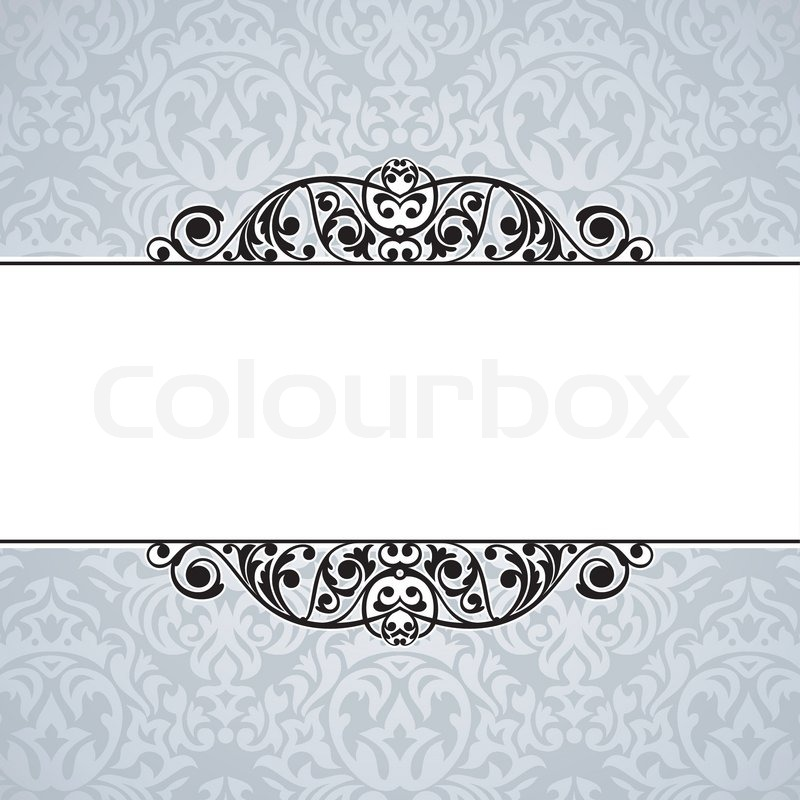 Abstract cute decorative vintage frame vector illustration ... Vintage Pastel Photography Background