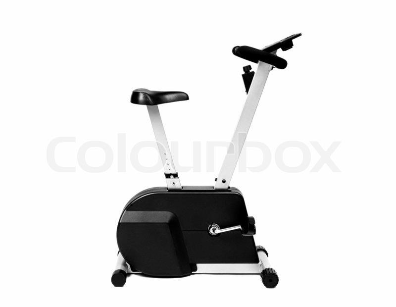 viele funktionen von fahrrad maschine f r die fitness oder zu hause stockfoto colourbox. Black Bedroom Furniture Sets. Home Design Ideas