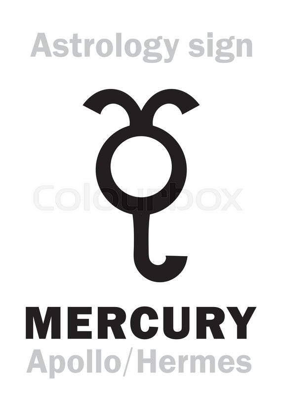 Astrology Alphabet Mercury Stilbon The Planetary Star Planet