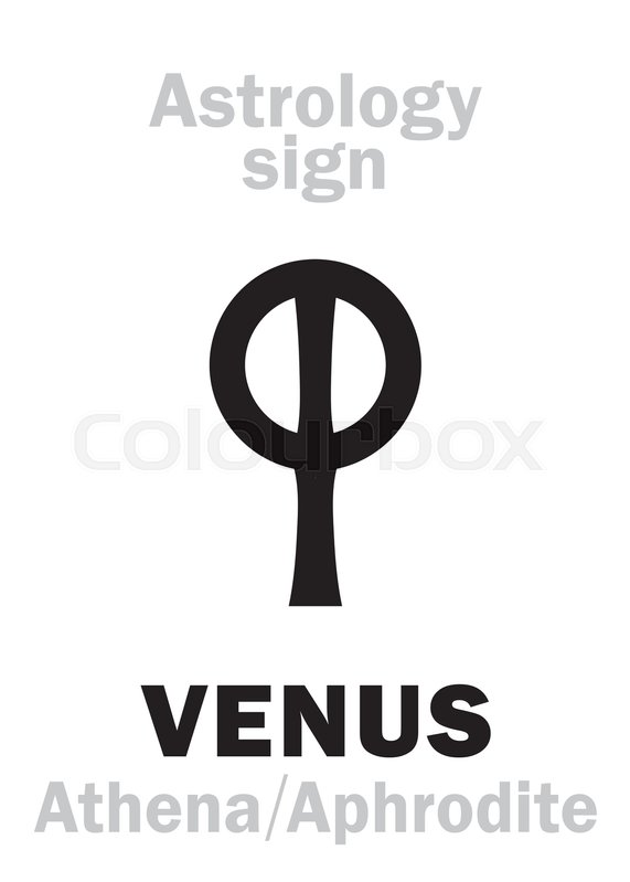 Astrology Alphabet Venus Aphrodite The Planetary Star Planet