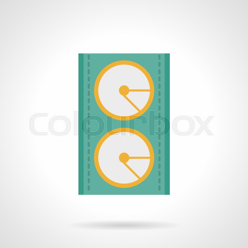 Abstract Symbol Of Music Or Audio Speaker Sound Equipment For Stage