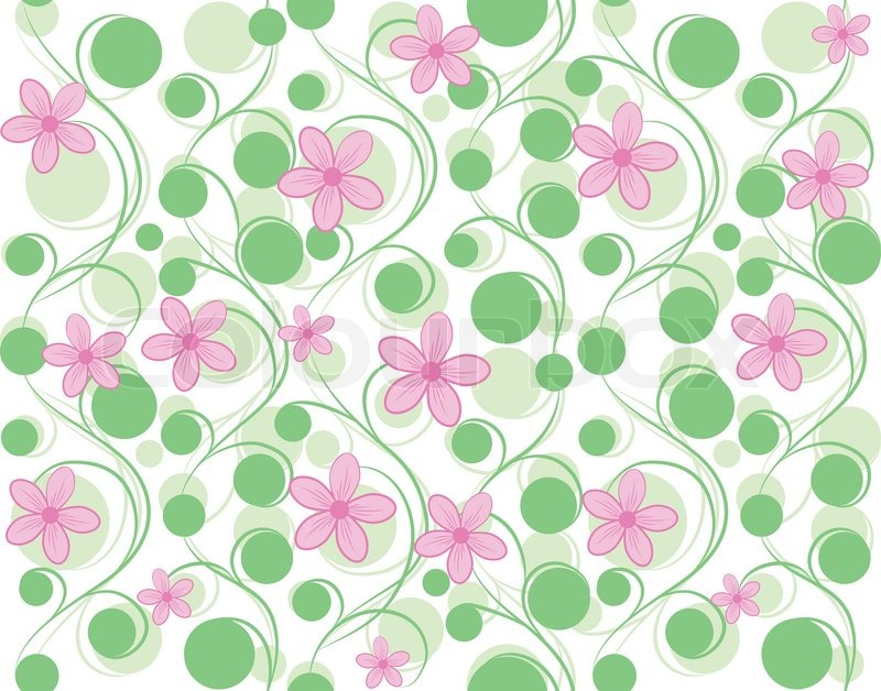 Look - Flower Pink background pattern pictures video