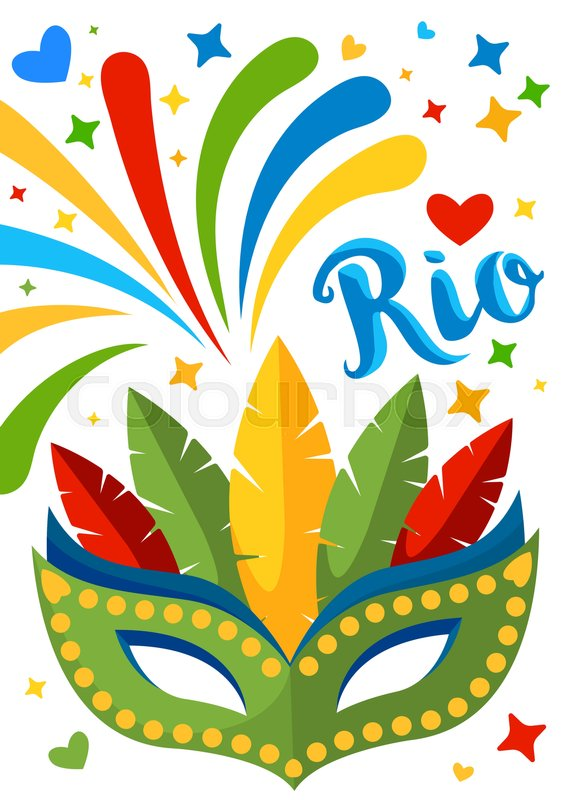 brazil carnival background for placard poster flyer and banner