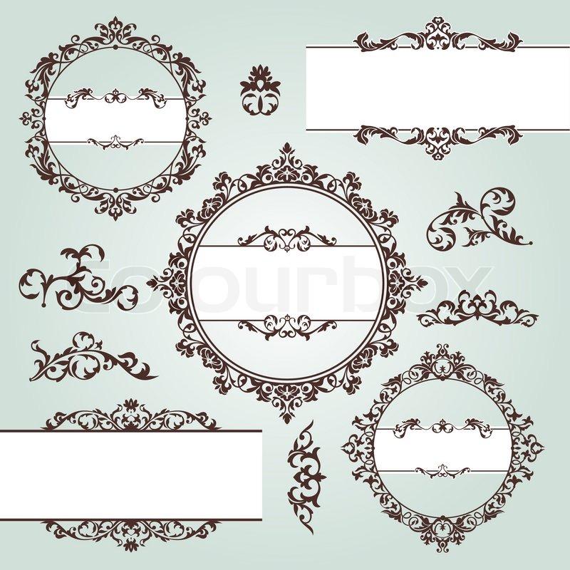 Western Design Elements Design Elements Vector