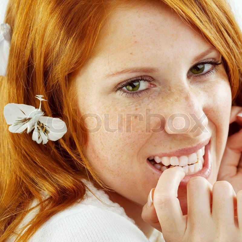 rødt hår teen pige Guldborgsund