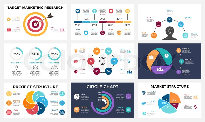 Marketing Infographic  Cycle Diagram  Global Business