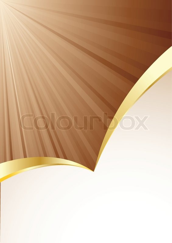 Vector Background In Brown Color Stock Vector Colourbox