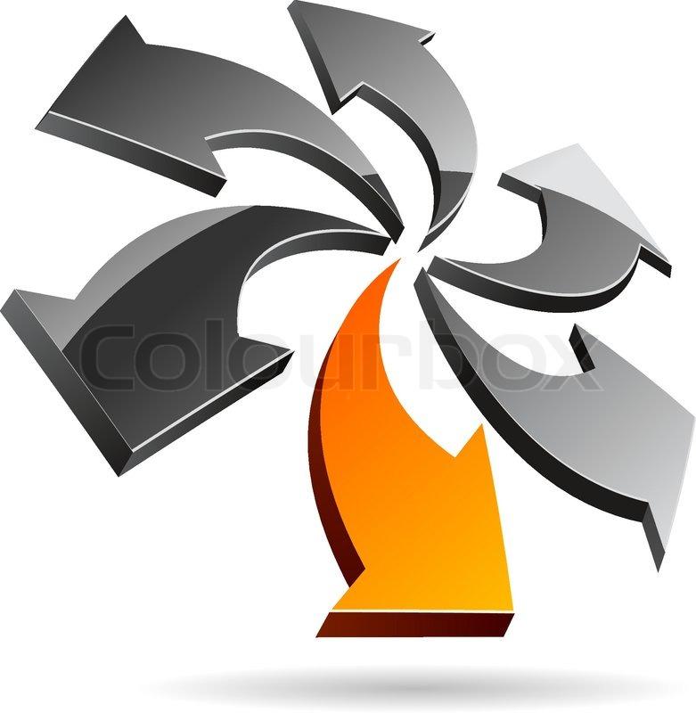 zusammenfassung firma symbol vector illustration