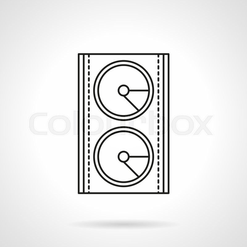 Abstract Symbol Of Music Speaker Stage Sound System And Equipment