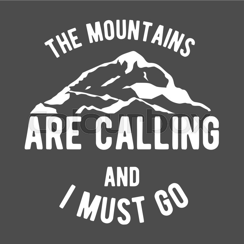 Set of mountain climbing vintage logos, emblems, silhouettes and ...